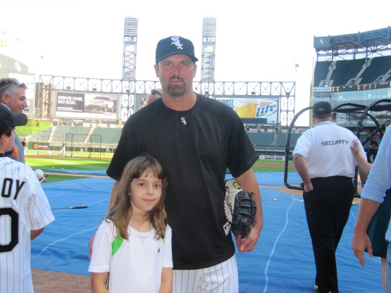 Haley and Paul Konerko