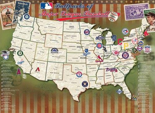 MLB Map