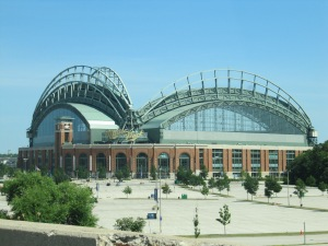 Miller Park from Highway